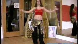 Beginner Belly Dancing Lessons : Hip Snap Move In Belly