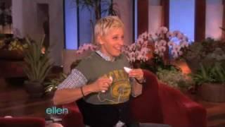 Marisa Miller Talks Football with Ellen
