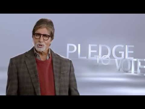 #PledgeToVote with India's Celebrities