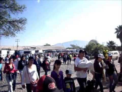 HIJOS AUSENTES DE ZACOALCO DE TORRES LLEGADA A PLAZA PRINCIPAL 23 FEB 2014