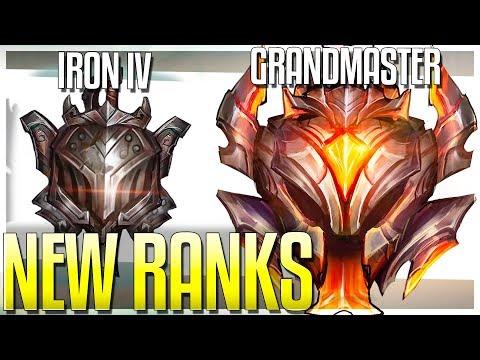 NEW RANKS!! IRON & GRANDMASTER TIER! BRONZE 5 DELETED!? Season 9 Rank Update - League of Legends