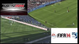 FIFA 14 Vs PES 2014 Cual Es Mejor ? Mi Opinion