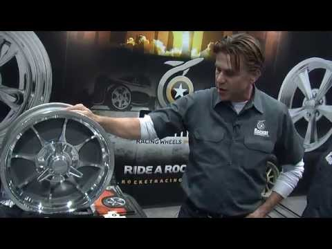 2013 SEMA Show Video Coverage: Rocket Racing Wheels