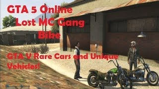 GTA 5 Online: Lost MC Bike-GTA V Rare Cars And Uni