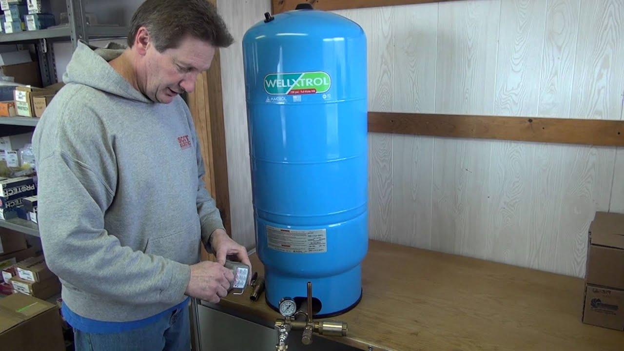 Hook Up Water Well Pressure Tank