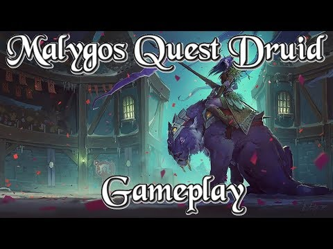 Gameplay: Malygos Quest Druid Kobolds And Catacombs (Hearthstone Guide How To Play)