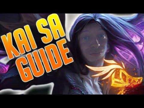 Kai'Sa ADC Guide German Season 8!