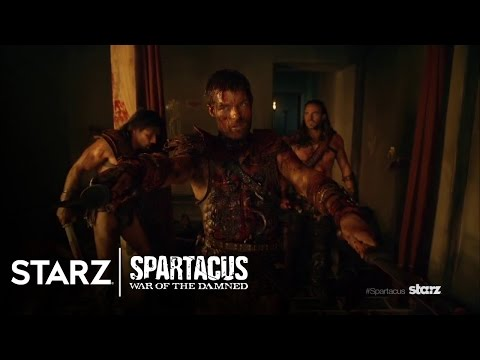 Spartacus: War of the Damned Teaser Trailer Revealed at Comic-Con