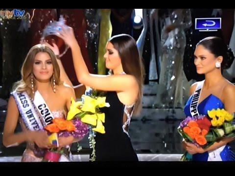 Trao nhầm vương miện của Hoa hậu Hoàn vũ 2015 (Miss Universe)