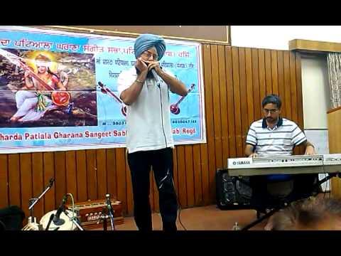 Dr.Doordarshi Singh performing in 83rd Sitting of Maa Sharda Patiala Gharana Sangeet Sabha, Patiala