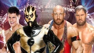 Elimination Chamber 2014 Kickoff Cody Rhodes & Goldust