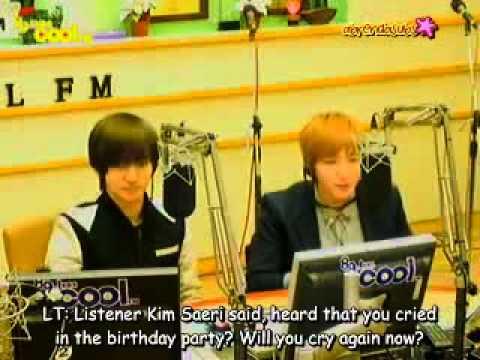 [ENG SUB/110404] Sukira Eunhyuk's Birthday Call Out