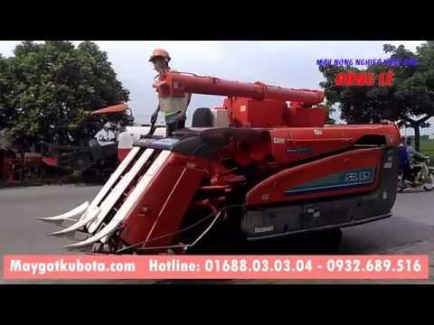 Xuất bán máy gặt Kubota SR35 đi Lạng Giang Bắc Giang