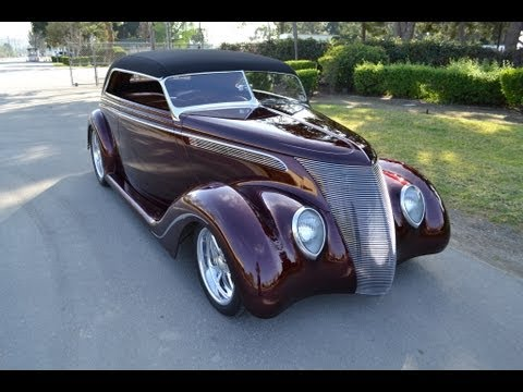 1937 German Ford Custom Cabriolet Convertible for sale by Corvette Mike