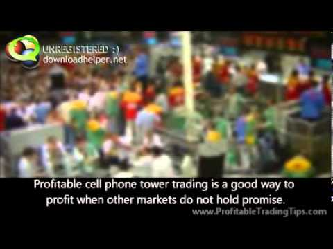 Profitable Cell Phone Tower Trading