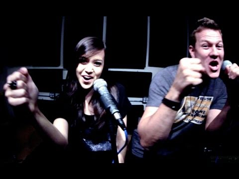 Domino - Jessie J (Cover) - Tyler Ward &amp; Megan Nicole