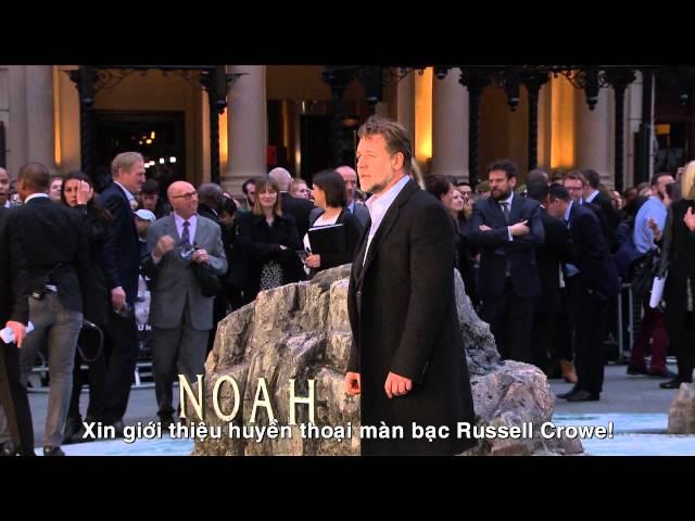 Noah - Đại Hồng Thủy: Buổi ra mắt phim tại London, Anh Quốc