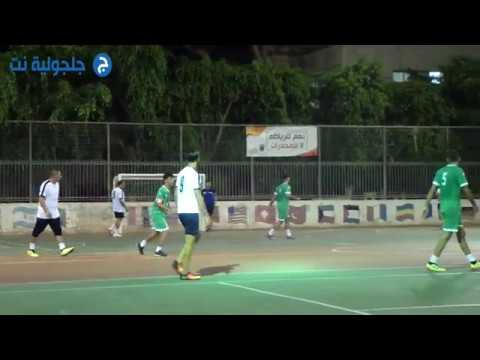 مباريات دوري كرة القدم المصغر في جلجولية -