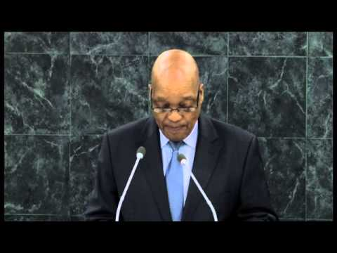 President Jacob Zuma addresses the 68th Session of UNGA