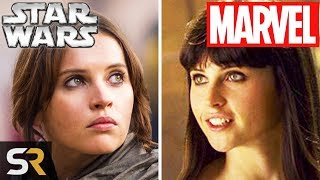 10 Star Wars Actors You Didn't Realize Were In Marvel Movies