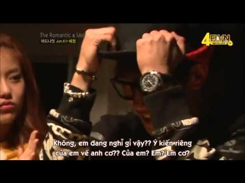 [Vietsub] 121223 The Romantic & Idol Ep 7 Part 1/2