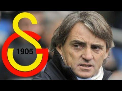 Roberto Mancini Galatasaray Manager!
