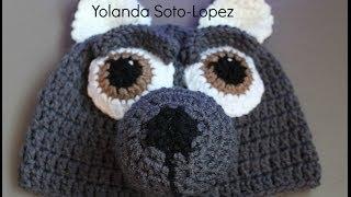 Gorro De Lobo En #Crochet Video Uno