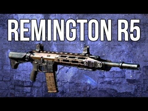 Ghosts In Depth - Remington R5 Assault Rifle Review