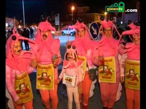 Resumen del Gran Desfile del Carnaval de Gines 2013