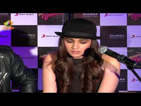 Alia Bhatt singing Main Tenu Samjhawan Ki song @ Humpty Sharma Ki Dulhania - Bollywood Updates