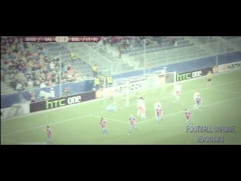 Red Bull Salzburg 1-2  Basel  ~  Europe League All Goals & Highlights 20 03 2014