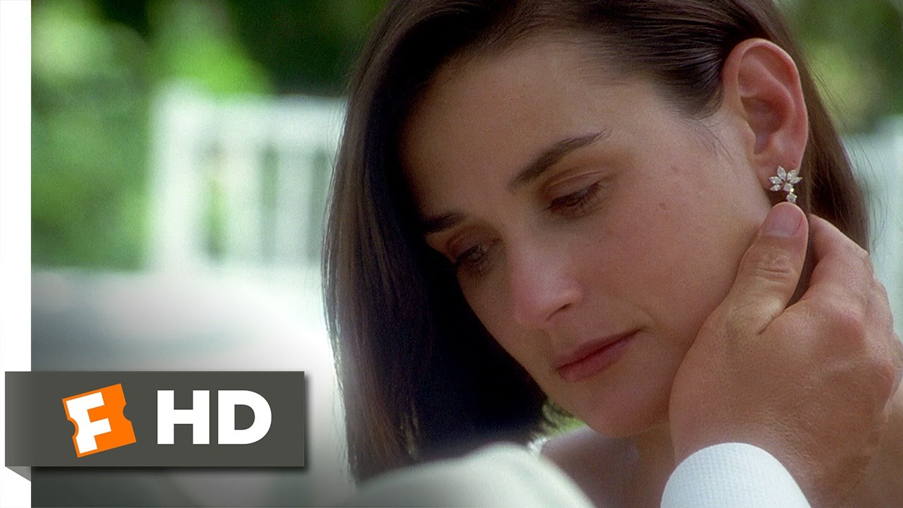 Indecent Proposal (7/8) Movie CLIP - David Talks About the