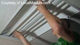 How To Install Or Change Fluorescent Bulbs In Recessed