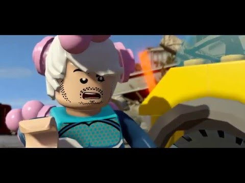 Lego Marvel's Avengers Quick Silver Death.