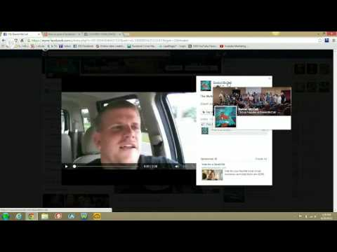 How to post a Facebook Video in the Comment thread -And make it visible