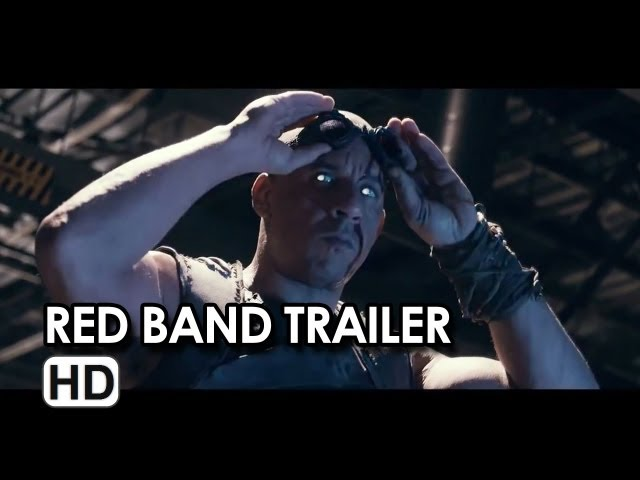 Riddick Red Band Trailer Comic-Con R-Rated (2013) - Vin Diesel Movie HD