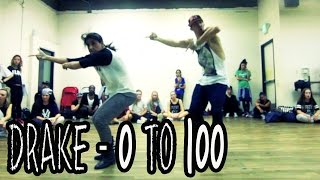 DRAKE 0 To 100 Dance Video @MattSteffanina