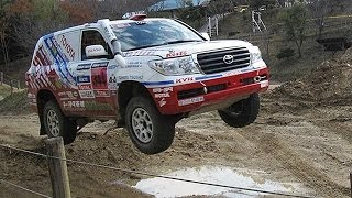 Toyota aim the Champion of Paris-Dakar Rally.(Test Drive)
