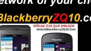 Official Unlock Blackberry Z10 Z30 Q10 Q5 With Factory Codes