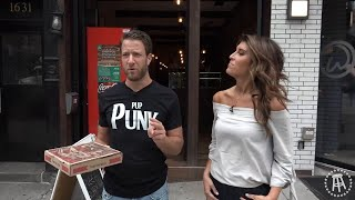 Barstool Double Pizza Review - Vinnie's Pizzeria and PQR with Special Guest Lauren Scala