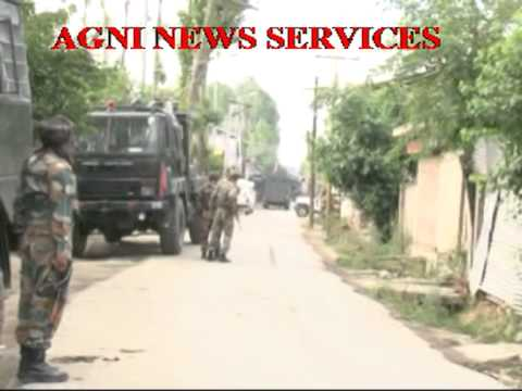 SOPORE .. FIERCE ENCOUNTER BETWEEN ARMY AND MILITANTS.