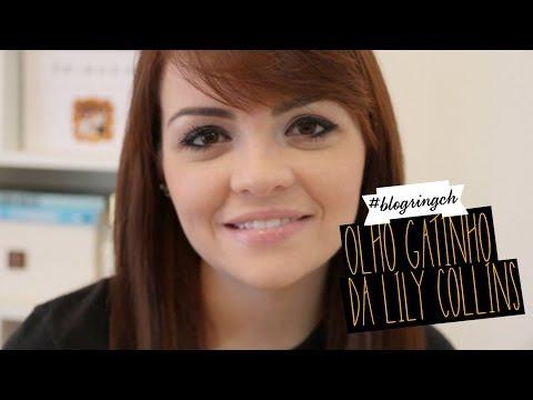 #blogringCH: Karol Pinheiro ensina make da atriz Lily Collins