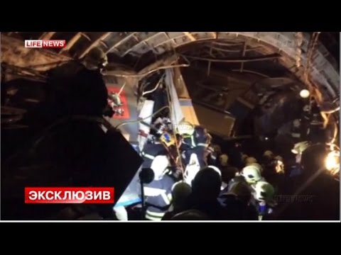 At Least 20 Dead in Moscow Subway Train Derailment