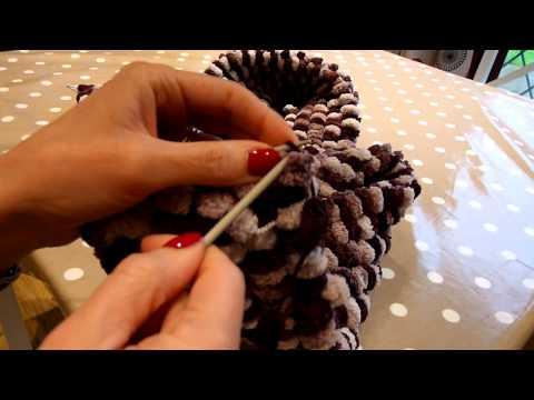 Pom Pom wool knitting tutorial.MTS