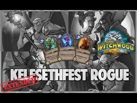 Kelesethfest Rogue | Extended Gameplay | Hearthstone | The Witchwood