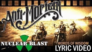 ANTI-MORTEM - Words of Wisdom (LYRIC VIDEO)