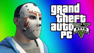GTA 5 PC Online Funny Moments Clapping Man & Defending