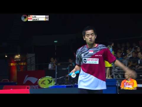 [HD] Final - MS - Simon SANTOSO vs LEE Chong Wei - 2014 OUE Singapore Open
