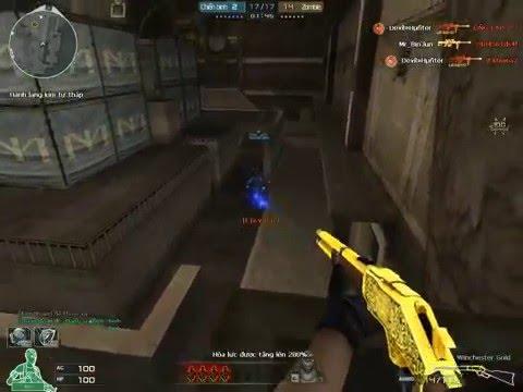 [CFVN Test] Bình Đức vs Set m700 Gold In zombie V4