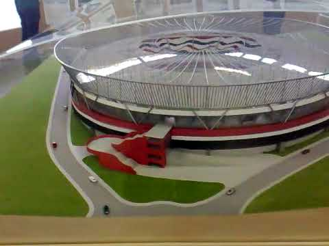 MAQUETE DO ESTADIO DO MORUMBI SPFC COPA 2014